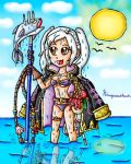 Robin Summer fishing by ninpeachlover