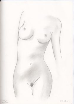 Artistic Nude front by Padernoster