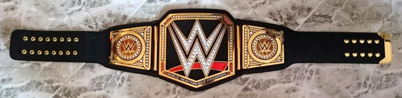 WWE WORLD HEAVYWEIGHT CHAMPIONSHIP TITLE BELT by imranbecks