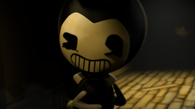 (Bendy ATIM SFM) No need to be scared of me... by Fer-Ge