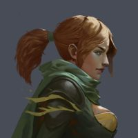 Alleria Windranger by telaga