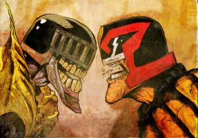 dredd by gaberoseart