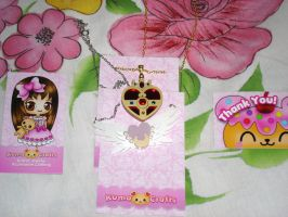 Kumacraft Sailor Moon Necklaces by Puja723