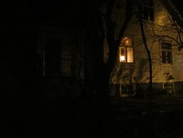 Cottage in the darkness by Ronja-poni