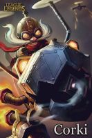 Corki - League Of Legends by UmbraDesigns