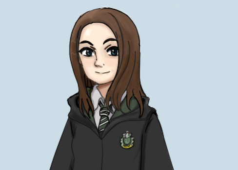 Slytherin student by Tlaloc-Rain