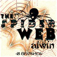 The Spider Web Brushes by alwinred