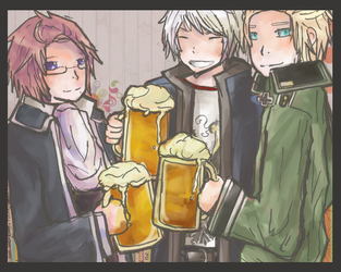 APH: Drunks by Lihery
