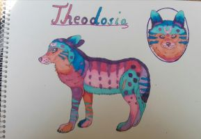 Character Design Theodosia by oOFrosteehOo