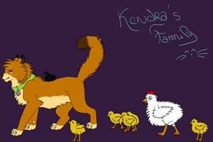 Kendra's Family by Marjorque