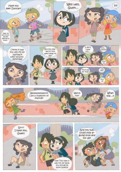 Total drama kids comic pag 2 by Kikaigaku