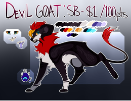 CLOSED DEVIL GOAT AUCTION by Oqami