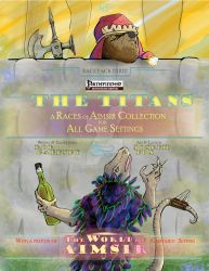 The World of Aimsir - the Titans