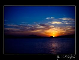 Sunset in Greece by 00TILL00