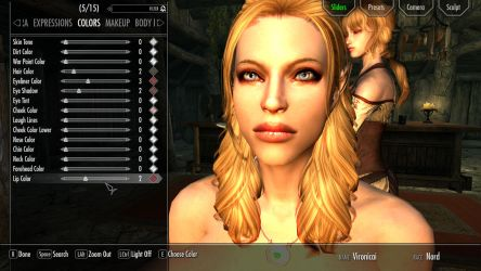 Skyrim Heavily Modded 4! Creating my character. by anglosaxoncelt