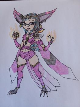 Kiira Final Design by Tiera-The-Yordle