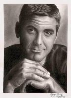 George Clooney by LordAvatarZ