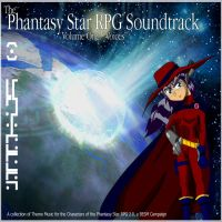 Phantasy Star RPG CD Cover by SP00KYELECTRIC