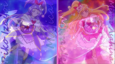 Wallpaper - Maho Girls Precure by Zecter-the-Hedgehog