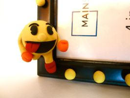 Close Up of Pac Man by FlamingChickCreation