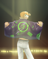 Music Meister_This is me by pink-ninja