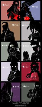 Naruto IPod Series III by Mockingbyrd