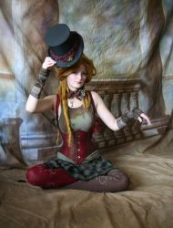 Steampunk Circus Doll 7 by mizzd-stock
