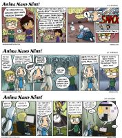 Anime News Nina Guest Strips 4-6 by Kiriska