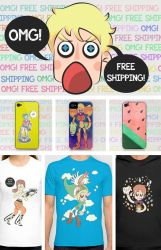 FREE SHIPPING by magic-cake