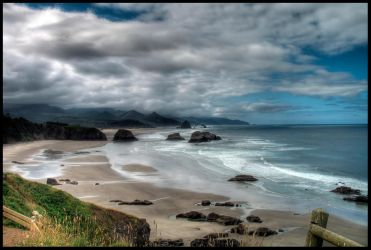 Ecola State Park HDR by metro