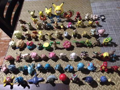 POKEMON TOMY COLLECTION 1st Edition (1998) by markaustria02