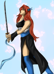Request Yuna by SteelFanged