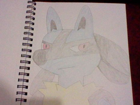 Lucario by Megamaster256
