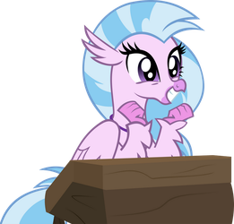 Excited Silverstream by IronM17