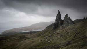 Old Man of Storr by Mohain