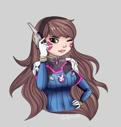 Think about it, D.va by Tokyo-Dollie