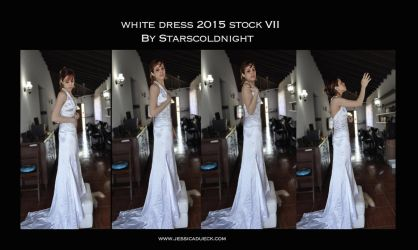 White Dress 2015 Stock 7 By Starscoldnight by StarsColdNight