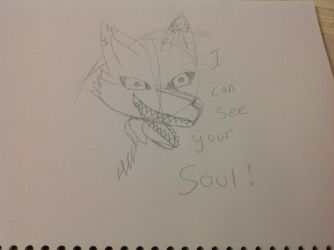 I can see your soul by redghost187