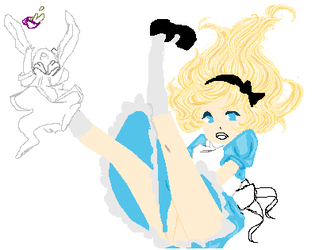 Alice WIP by Jen-in-wonderland1