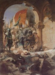 The Entry Of Mehmed II Into Constantinople 1453-2 by eduartinehistorise
