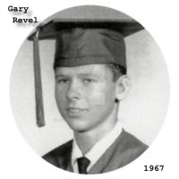 Gary Revel - 1967 High School Graduation by garyrevel