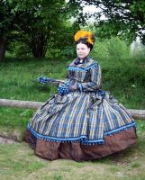 1868 Day Dress EFF 2009 G by debellespoupees