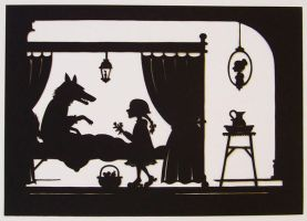 Papercut - Little Red Riding H by PaperTales