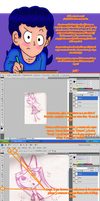 Lineart digital - Tutorial by Juli4427