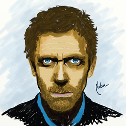 House MD on Oil by mnetto