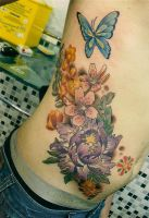 flowers ribs by mojoncio