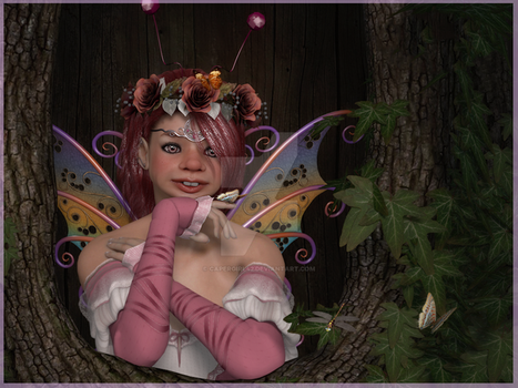 Jinksie the little Fae by CaperGirl42