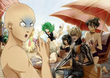 One Punch Man Crew by ellenchain