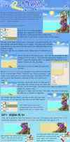 PS Beach and Sea Tutorial by RadenWA