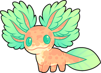 Axolotl Adoptable CLOSED by LamarTheAxolotl